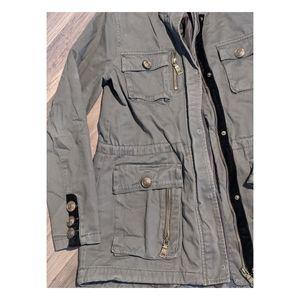 Madden Olive Utility Jacket - Medium